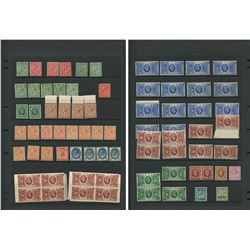 Great Britain George V Mint Stamp Collection