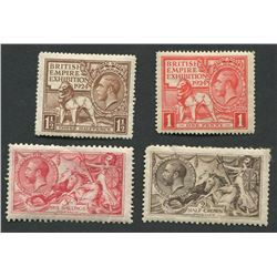 Great Britain George V Stamp Collection 3