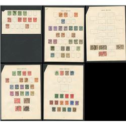 Great Britain George V Stamp Collection 5