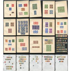 Great Britain George VI Blocks Collection