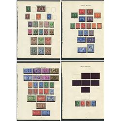 Great Britain George VI Mint Stamp Collection 1