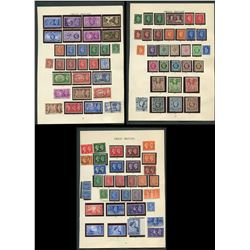 Great Britain George VI Stamp Collection 2