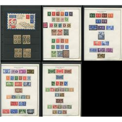 Great Britain George VI Stamp Collection 3