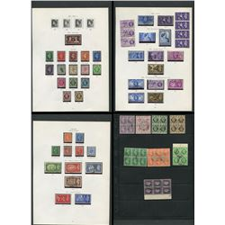 Great Britain George VI Stamp Collection 4