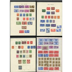 Great Britain George VI Stamp Collection 9