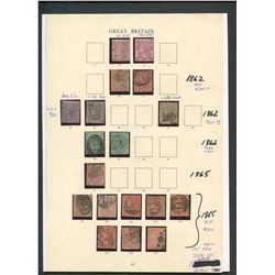 Great Britain Rare Stamp Collection