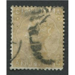 Great Britain S/C #46 A19 9p Straw F