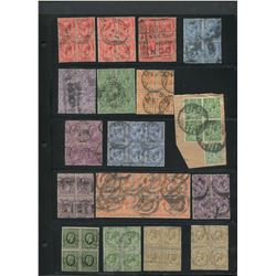 Great Britain Stamp Blocks Collection