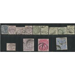 Great Britain Victoria Early Rare Stamp Collection