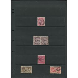 Great Britain Victoria Edward George V Stamp Collection