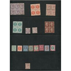 Great Britain Victoria Mint Blocks and Singles