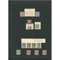 Great Britain Victoria Mint Stamp Collection