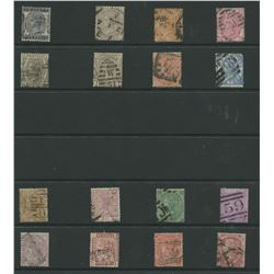 Great Britain Victoria Rare Stamp Collection 1