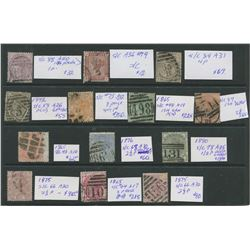 Great Britain Victoria Rare Stamp Collection 4