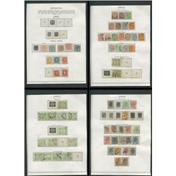 Romania 1862-1911 Stamp Collection