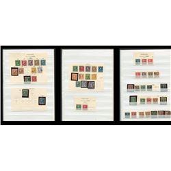 USA 1895-1910 Postage Stamp Collection