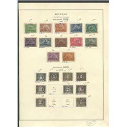 USA 1898-1914 Revenue Proprietary Stamp Collection