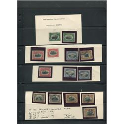 USA 1901 Panamerican Exposition Issues Stamp Collection