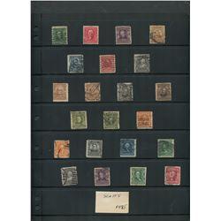 USA 1902-1903 Stamp Collection