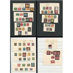 USA 1908-1926 Postage Stamp Collection