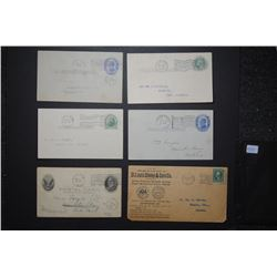 USA 1910-1917 Postcards and Letters
