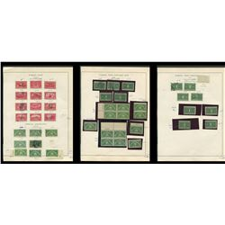 USA 1912-1929 Parcel Post Stamp Collection