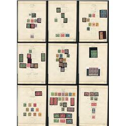 USA 1917 to 1925 Stamp Collection