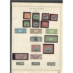 USA 1918-30 Air Post Stamp Collection