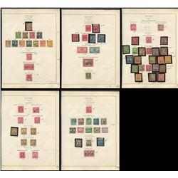 USA 1926-1932 Stamp Collection