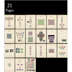 USA 1932-1938 Stamp Collection