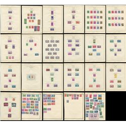 USA 1939-1949 Virtually All Mint Stamp Collection