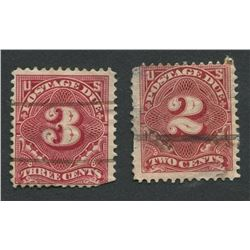 USA Early Rare Postage Due Stamps