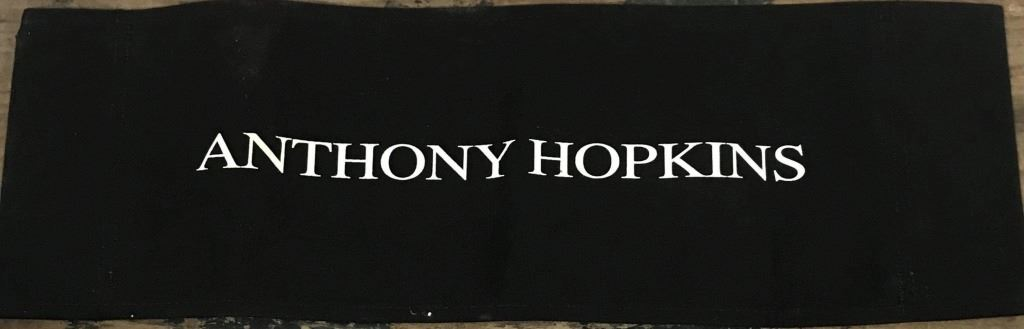 Red Dragon 2002 Dr Hannibal Lecter Anthony Hopkins Chairback