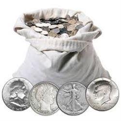You get 2 Silver 90% Half Dollars Assorted Walkers Franklins or Kennedys