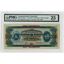 Commonwealth of Australia, ND (1918) Issue Banknote.