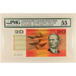 Commonwealth of Australia, ND (1968) Issued Banknote.
