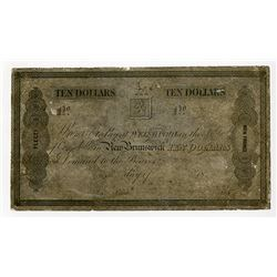 Campobello Milling & Manufacturing Co., 18xx (1840-60) Proof Note.