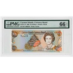 Cayman Island Currency Board, 1996 Issued Banknote.