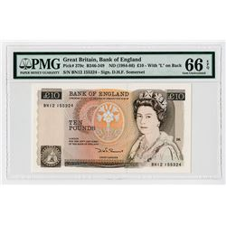 Bank of England, ND 1984-86, Issue Banknote.