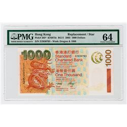 Standard Chartered Bank, 2003 Replacement / Star Note.