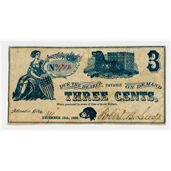 Robert B.Leeds. 1863. Obsolete Note.