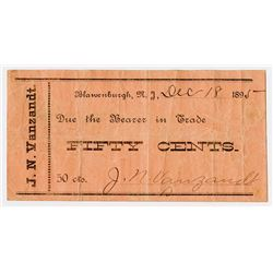 J.N. Vanzandt. 1895. Obsolete Note.