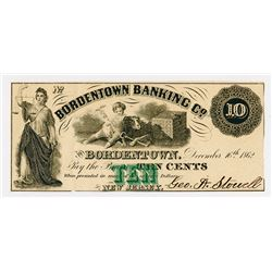George A.Sowell & Bro. 1862. Obsolete Note.