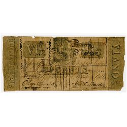 Book Store. 1837. Obsolete Scrip Note.