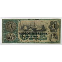 Hudson River Bank. 1862. Obsolete Note.