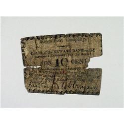 York and Jersey Steam-Boat Ferry Co. 1836. Obsolete Scrip Note.