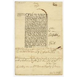 An Act for Granting an Aid to Her Majesty, to be Raised by a Land-Tax in Great Britain, 1709-10 Issu