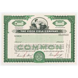 Coca-Cola Co.,1960-70's Specimen Stock Certificate.