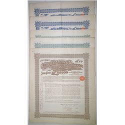 Car Trust Realisation Co. Ltd., 1906-1908 Group of Issued Bonds