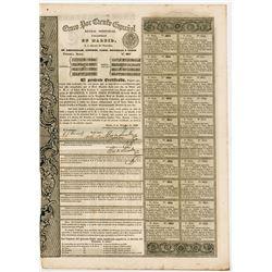 Cinco por Ciento Espanol - Rentas Perpetuas Pagadera En Madrid (Spain), 1836 Perpetual Annuity-Bond.